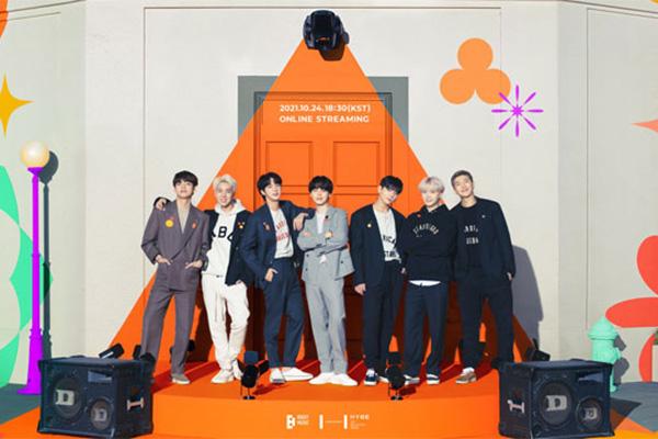 BTS, 내달 24일 온라인 공연 '퍼미션 투 댄스 온 스테이지'