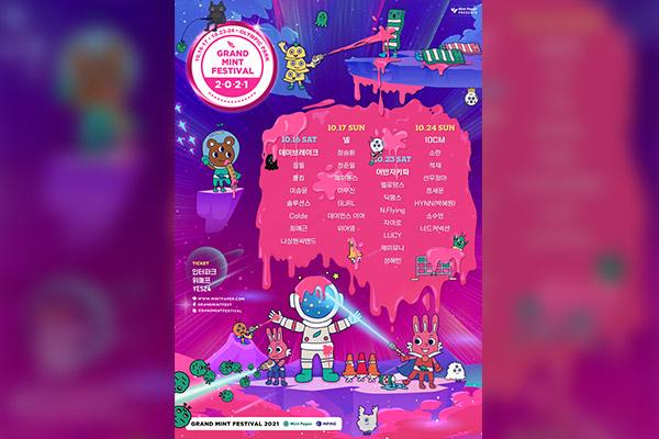 Grand Mint Festival veröffentlicht Line-up für Oktober