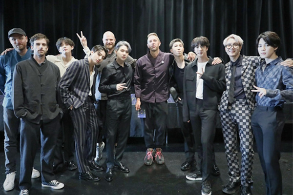 BTS reunites with Coldplay in NY