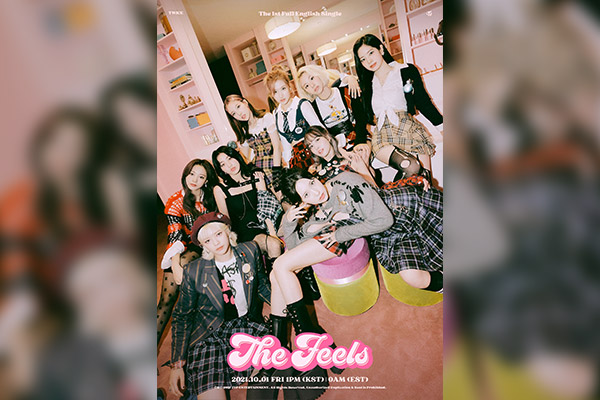 TWICE to release first English single