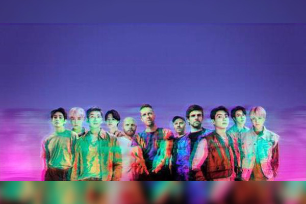 BTS-Coldplay collaboration hits No. 12 on Billboard's Hot 100