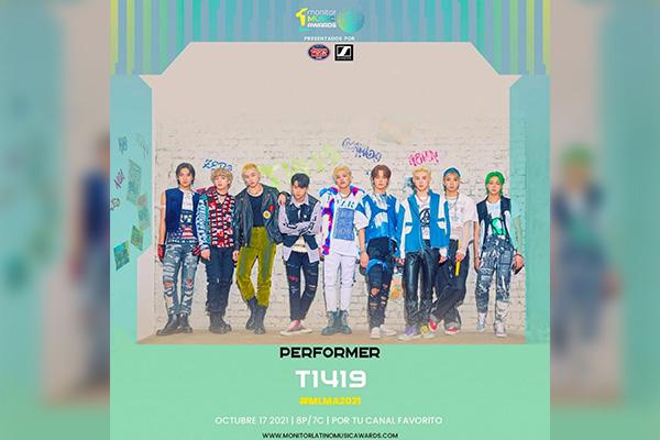 Nhóm nam T1419 được mời biểu diễn tại lễ trao giải thưởng âm nhạc lớn nhất Nam Mỹ