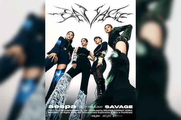 "Album ""Savage"" của aespa lọt bảng xếp hạng Billboard 200"