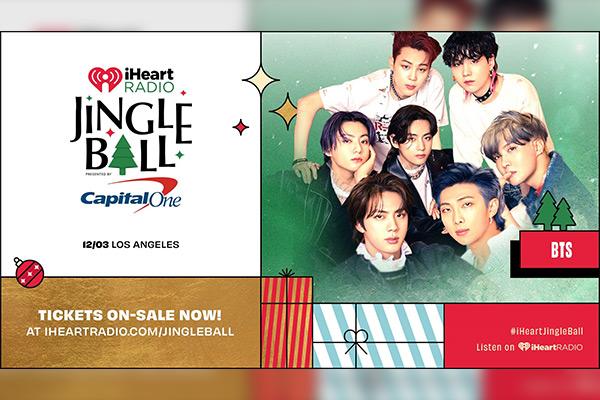 """BTS được mời tham gia show diễn cuối năm """"Jingle Ball Tour 2021"""" (Mỹ)"""