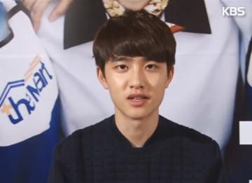 D.O dari EXO berbagi cerita tentang adegan ciuman dengan Kim So Hyun