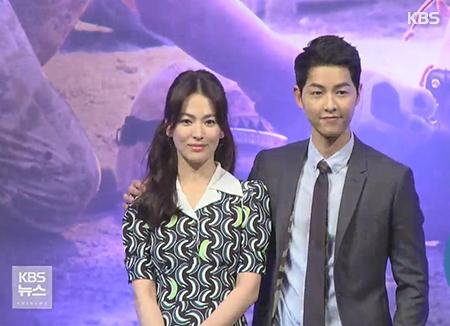 Song Joong Ki dan Song Hye Kyo Menikah di Bulan Oktober