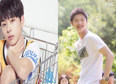 Seonho 'Produce 101' dan Yook Sungjae 'BtoB' Shooting Iklan Bersama