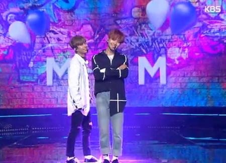 MXM, Lee Daehwi dan Park Woojin akan Menyanyi di Pernikahan Rhymer