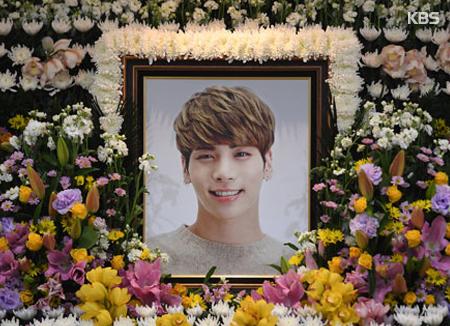 Ucapan SM Entertainment usai pemakaman Jonghyun
