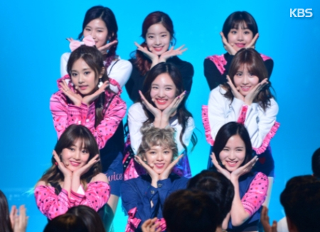 Twice s'est vu décerner le prix du chanteur choisi par les producteurs