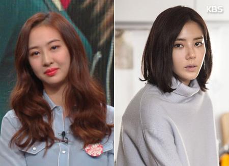 Les chanteuses Dasom et Sohn Dam-bi apparaissent sur le grand écran