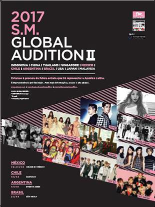 Des auditions de SM seront organisées au Brésil