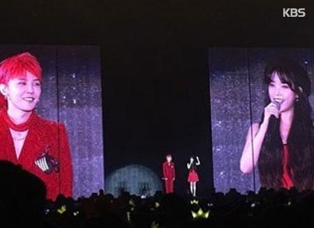G-Dragon apparaîtra lors du concert d'IU