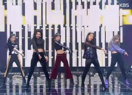 US-Billboard beleuchtet Red Velvet