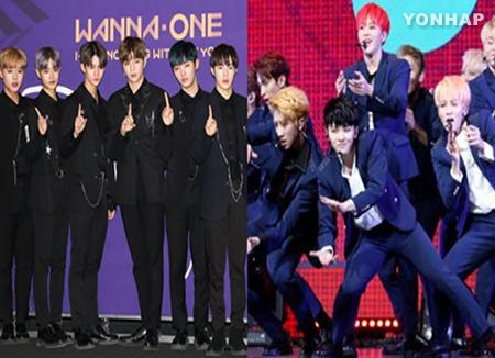 Wanna One und Seventeen erhalten Preise bei MAMA Vietnam