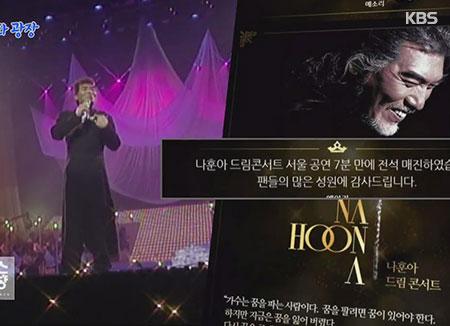 Arnaque à la vente de billets pour les concerts de Nah Hoon-ah