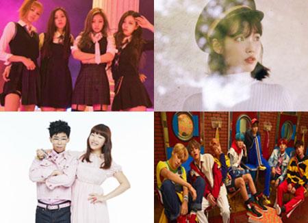 Quels sont les meilleurs groupes d'idoles de l'année choisis par les fans du monde entier ?