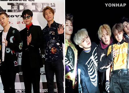 Bigbang und iKon sind in Japan besonders beliebt