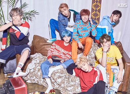 BTS gab ein Neujahrstreffen für ihre Fans