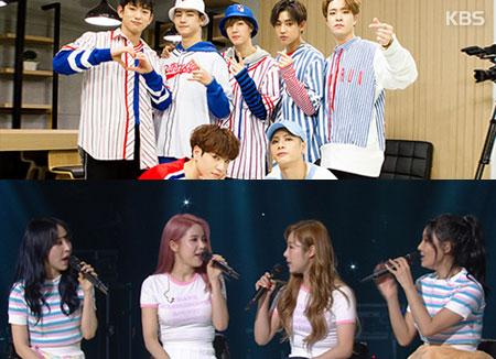 Plusieurs groupes d'idoles sont de retour en mars !