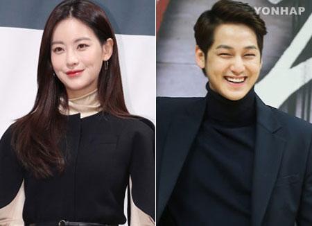 الممثلة أوه يون سوه والممثل كيم بوم يتواعدان