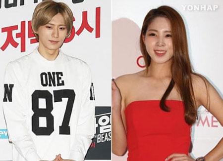 انفصال هيون سونغ عضو فرقة بيست والرياضية شين سو جي