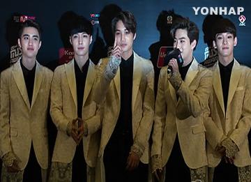 EXOの新曲「December 2014」 KBS『ミュージックバンク』で初ステージ