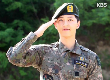 Song Joong-ki Discharged From The Military