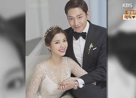 Shinhwa's Eric & Actress Na Hye-mi Tie the Knot