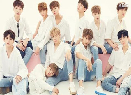 Wanna One tops brand value ranking for boy groups in September