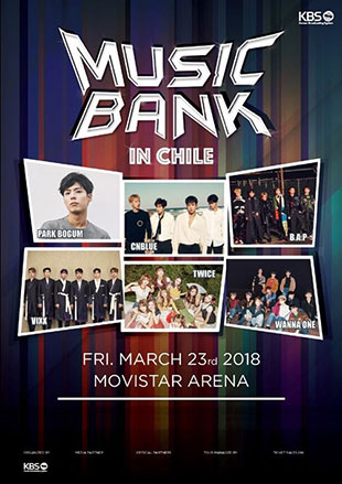 Music Bank World Tour begins 2018 run in Chile