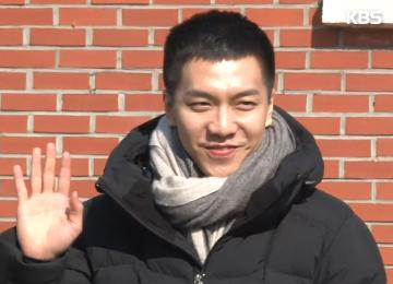 Lee Seung Gi grabó una canción con PSY antes de ingresar al servicio militar