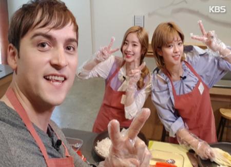 Twice y Guillaume Patry promocionan el kimchi
