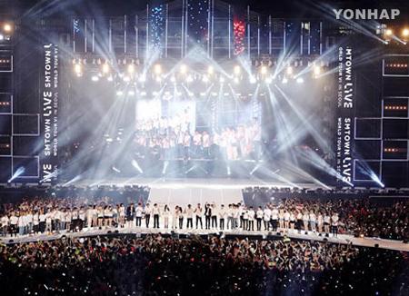 Los artistas de SM Entertainment harán una gala en Dubái