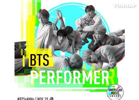 BTS được mời đến tham dự American Music Awards