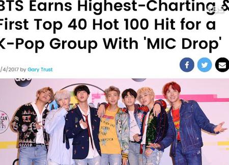 BTS tiếp tục khẳng định vị thế của mình trên thị trường âm nhạc quốc tế