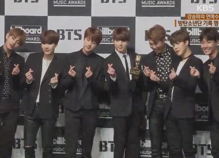 BTS tiếp tục thắng giải thưởng lớn tại Mỹ