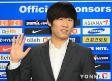 朴智星選手が国家代表を引退宣言