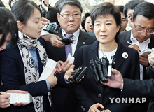 朴槿恵元ハンナラ党代表 「党代表選挙に出馬しない」