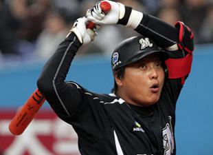 キム・テギュン 69試合連続出塁