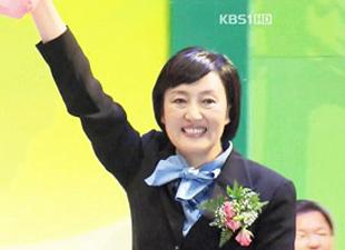 ソウル市長選挙 民主党公認候補に朴映宣議員