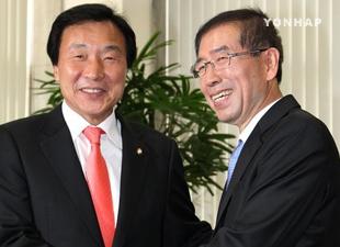 朴元淳氏「第三政党の立ち上げ、考えたことがない」
