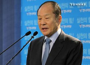 李明博大統領の兄 来年春の総選挙に不出馬表明