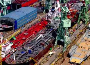2月の船舶受注 韓国が1位