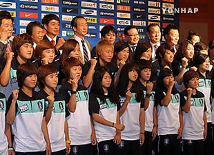 S.Korea Earns Ticket to 2012 FIFA U-20 Women's World Cup