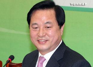 金斗官氏 大統領選党内選挙へ出馬表明