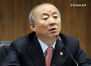 Vereinigungsminister Ryu töpfert Wiedervereinigungskrug