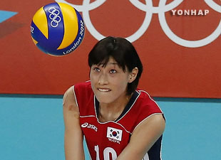 Kim Yeon-koung Named Olympic Volleyball MVP