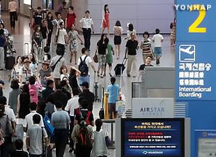7月~9月の国際線旅客数 過去最高に