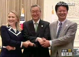 韩美日外长会谈28日将在纽约举行图片 19125 310x225